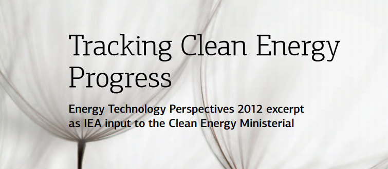 IEA Tracking Clean Energy Progress Report