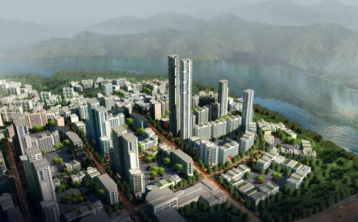 Yuelai Eco-city in Chongqing, China