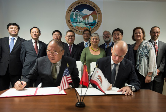 California China climate agreement