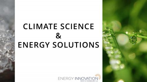 Permalink to Climate Science and Energy Solutions