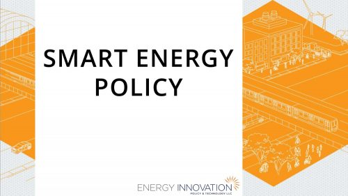 Permalink to Smart Energy Policy