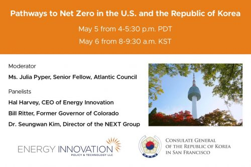 Permalink to Pathways To Net Zero In The U.S. And The Republic Of Korea