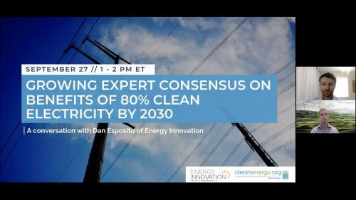 Permalink to Growing Expert Consensus On Benefits Of 80 Percent Clean Electricity By 2030