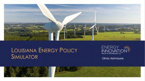 Permalink to Louisiana Energy Policy Simulator Launch